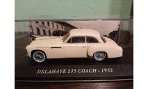 DELAHAYE  235 COACH  1952, масштабная модель, Altaya, scale43
