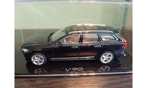 Volvo V90  onyx black, масштабная модель, Norev, 1:43, 1/43