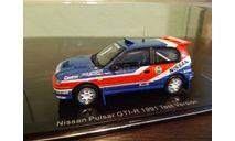 Nissan Pulsar GTi-R Rally  1991  test version, масштабная модель, Norev, scale43