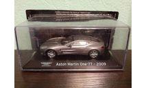 Aston Martin One 77 2009, масштабная модель, Altaya, scale43