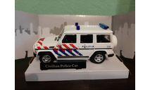 Mercedes Benz G-Class  'Civilian Police', масштабная модель, Mercedes-Benz, Bauer/Cararama/Hongwell, 1:43, 1/43