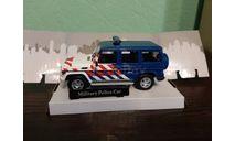 Mercedes Benz G-Class  'Military Police', масштабная модель, Mercedes-Benz, Bauer/Cararama/Hongwell, 1:43, 1/43
