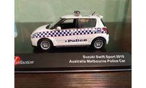 Suzuki Swift  MELBOURNE POLICE 2010, масштабная модель, J-Collection, scale43
