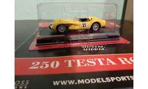 Ferrari Collection №68 Ferrari 250 TESTA ROSSA Le Mans 1958 #21, журнальная серия Ferrari Collection (GeFabbri), Ferrari Collection (Ge Fabbri), scale43