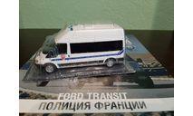 Полицейские Машины Мира №41 Ford Transit, журнальная серия Полицейские машины мира (DeAgostini), Полицейские машины мира, Deagostini, scale43