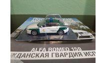 Полицейские Машины Мира №43 Alfa Romeo 159, журнальная серия Полицейские машины мира (DeAgostini), Полицейские машины мира, Deagostini, 1:43, 1/43