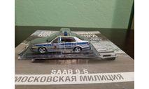 Полицейские Машины Мира №48 SAAB 9-5, журнальная серия Полицейские машины мира (DeAgostini), Полицейские машины мира, Deagostini, scale43