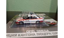 Полицейские Машины Мира №61 Opel Omega, журнальная серия Полицейские машины мира (DeAgostini), Полицейские машины мира, Deagostini, scale43