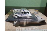 Полицейские Машины Мира №64 Citroen 2CV Ertzaintza, журнальная серия Полицейские машины мира (DeAgostini), Полицейские машины мира, Deagostini, scale43, Citroën