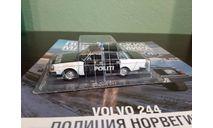 Полицейские Машины Мира №73 Volvo 244, журнальная серия Полицейские машины мира (DeAgostini), Полицейские машины мира, Deagostini, scale43