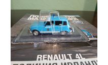 Полицейские Машины Мира №76 Renault 4L, журнальная серия Полицейские машины мира (DeAgostini), Полицейские машины мира, Deagostini, scale43