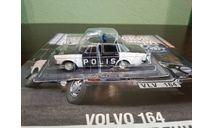 Полицейские Машины Мира №77 Volvo 164, журнальная серия Полицейские машины мира (DeAgostini), Полицейские машины мира, Deagostini, scale43