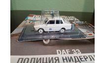 Полицейские Машины Мира №78 DAF 33, журнальная серия Полицейские машины мира (DeAgostini), Полицейские машины мира, Deagostini, scale43