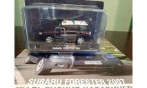 Полицейские Машины Мира СПЕЦВЫПУСК Subaru Forester 2007, журнальная серия Полицейские машины мира (DeAgostini), Полицейские машины мира, Deagostini, scale43