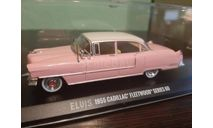 Cadillac Fleetwood Series 60 1955 Elvis Presley, масштабная модель, Greenlight Collectibles, scale43