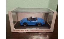 Porsche  911 Speedster (997) 2010, масштабная модель, Atlas, scale43