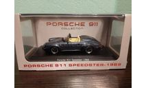 Porsche 911 Speedster 1989, масштабная модель, Atlas, scale43