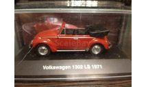 Volkswagen Käfer 1302 LS Cabrio 1971, масштабная модель, Altaya, scale43
