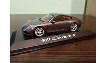 Porsche 911 (991 II) Carrera 4, масштабная модель, Herpa, 1:43, 1/43