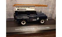 Land Rover Santana 88 *Telefonica*  1989, масштабная модель, Altaya, 1:43, 1/43