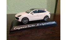 Porsche Cayenne Turbo S e-hybrid Coupe, масштабная модель, Norev, scale43