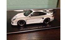 Porsche Gemballa Avalanche GTR 650 EVO-R, масштабная модель, Spark, scale43