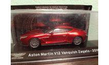 Aston Martin V12 Vanquish Zagato 2016, масштабная модель, Altaya Supercars, scale43