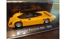 Porsche 962 Dauer Street 1993, масштабная модель, Altaya Supercars, scale43