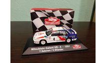 Mitsubishi Galant VR-4 #4 Rally Monte Carlo  1991, масштабная модель, Atlas, scale43