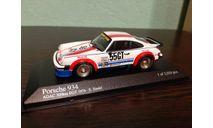 Porsche 934 1976, масштабная модель, Minichamps, scale43