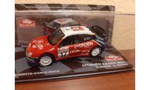 Citroen Xsara WRC #17 Ralle Monte Carlo 2003, масштабная модель, Altaya Rally, scale43, Citroën