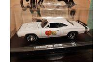 Dodge Super Bee 400 1970, масштабная модель, M2 Machines, scale64