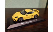 Porsche 718 (982) Cayman GT4  2019, масштабная модель, Minichamps, scale43