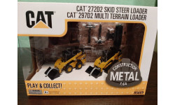Caterpillar 272D2/297D2 Skid Steer Loader + Multi Terrain Loader