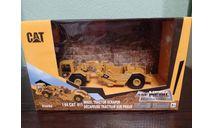 CAT 611 Wheel Tractor Scraper, масштабная модель трактора, Caterpillar, Diecast Masters, 1:64, 1/64