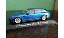 Porsche Panamera 4S Diesel Sport Turismo, масштабная модель, Minichamps, scale43