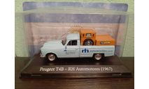 Peugeot T4B RH Automotores 1967, масштабная модель, Altaya, scale43