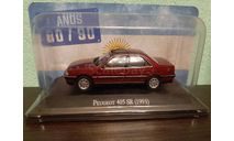 Peugeot 405 SR, масштабная модель, Altaya, scale43