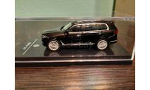 BMW X7 black, масштабная модель, Paragon Models, scale64