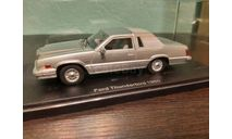 Ford Thunderbird 1980, масштабная модель, Neo Scale Models, scale43