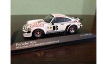 Porsche 934 #86 24h LeMans 1979, масштабная модель, Minichamps, scale43