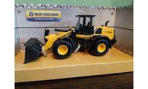 NEW HOLLAND  W170D, масштабная модель трактора, BBurago, scale50