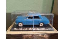 MERCEDES-BENZ  180  (W120) PONTON, журнальная серия Kultowe Auta PRL-u (Польша), DeAgostini-Польша (Kultowe Auta), scale43