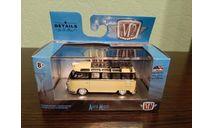 Volkswagen Microbus USA 1959, масштабная модель, M2 Machines, scale64