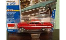 Chevy Impala SS 409 1961, масштабная модель, Johnny Lightning, scale64, Chevrolet