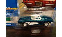 Chevy Corvette 1962, масштабная модель, Johnny Lightning, scale64, Chevrolet