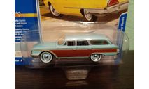 Ford country Squire 1960, масштабная модель, Johnny Lightning, scale64