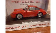 Porsche  911 Carrera 4 1991, масштабная модель, Atlas, scale43