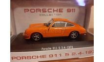 Porsche 911 S 2.4 1972, масштабная модель, Atlas, scale43