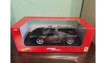 Ferrari 458 Italia, масштабная модель, Mattel Hot Wheels, scale18